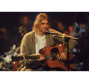 Kurt Cobain - Unplugged Pic 24In X 36In Poster