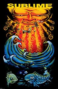 Sublime - Sun & Fish 24In X 36In Poster