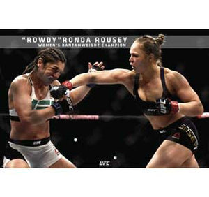 Ufc - Ronda Rousey - Ufc 190 24In X 36In Poster