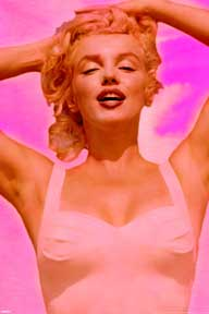 Marilyn Monroe - Fuchsia Dream 24In X 36In Poster