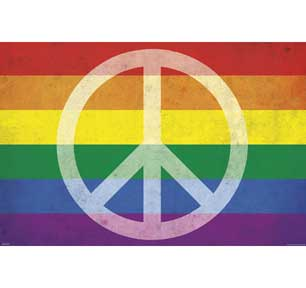 Pride And Peace 24In X 36In Poster