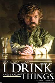 Game Of Thrones - Tyrion - Dri 24In X 36In Poster