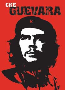Che Guevara - Red 24In X 36In Poster