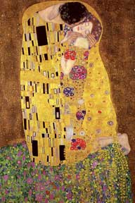Klimt - The Kiss 24In X 36In Poster