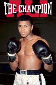 Ali - The Champion 24In X 36In Poster