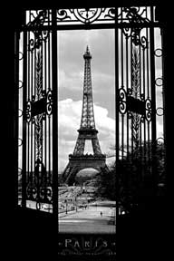 Eiffel Tower 1909 24In X 36In Poster