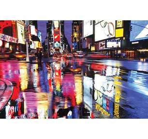 Times Square - Colors 24In X 36In Poster