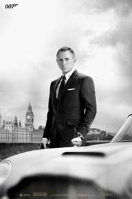 James Bond - Skyfall - Db5 24In X 36In Poster