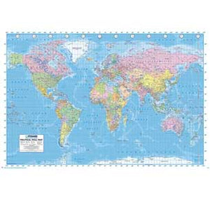 World Map - Political 24In X 36In Poster