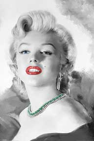 Marilyn Monroe - Diamonds Are 24In X 36In Poster