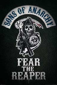 Sons Of Anarchy - Fear The Rea 24In X 36In Poster