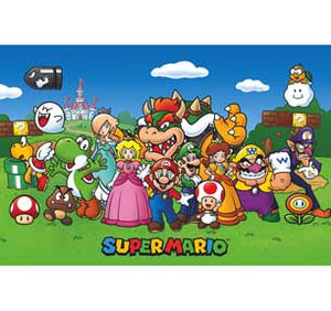 Super Mario - Animated 24In X 36In Poster