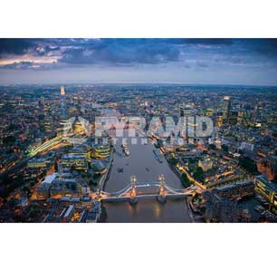 London - Jason Hawkes 24In X 36In Poster