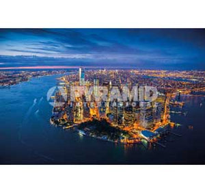 New York - Jason Hawkes 24In X 36In Poster