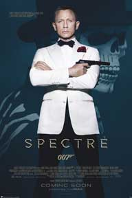 James Bond - Spectre - Skull 24In X 36In Poster