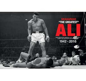 Ali Vs. Liston - Commemorative 24In X 36In Poster