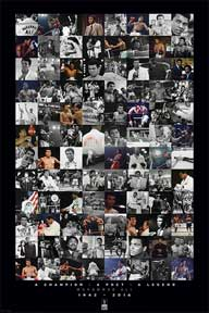 Ali - Montage - Commemorative 24In X 36In Poster