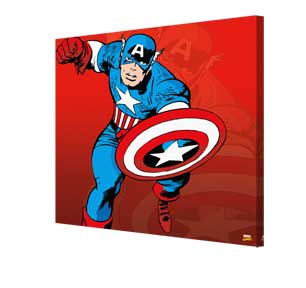Captain America - Character Canvas