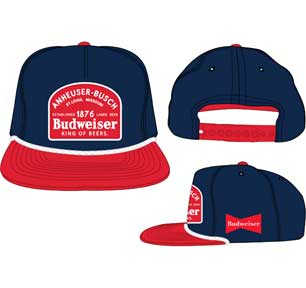 Budweiser Nvy Red Patch