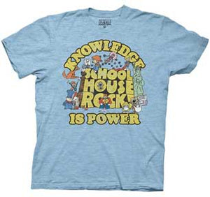 Knowledge Is Power Logo Group Mens T-Shirt
