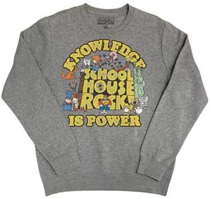 Knowledge Is Power Logo Sweatshirt