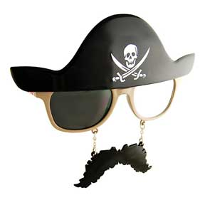Pirates Adult Shades