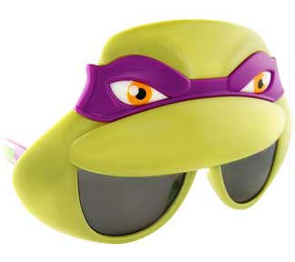 Purple Mask Sunglasses