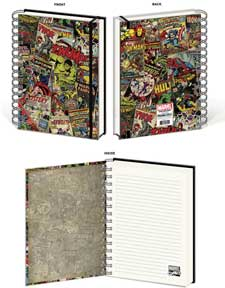 Collage 88 Page Spiral Notebook