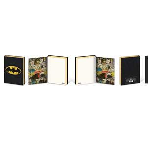 Batman - Bat Symbol Small Soft Pvc A5 Premium Journal