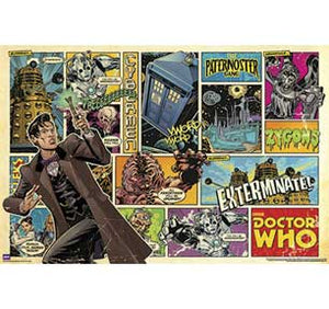 Doctor Who - Comic Strip 22In X 34In Poster