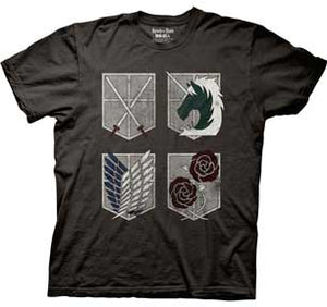 Shield W/Logo Mens Lightweight T-Shirt