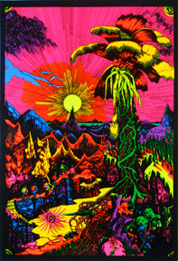 Lost Horizon Black Light 24In X 36In Poster
