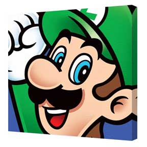 Super Mario - Luigi Canvas