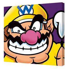 Super Mario - Wario Canvas