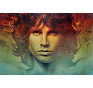 Jim Morrison - Spirit 22In X 34In Poster