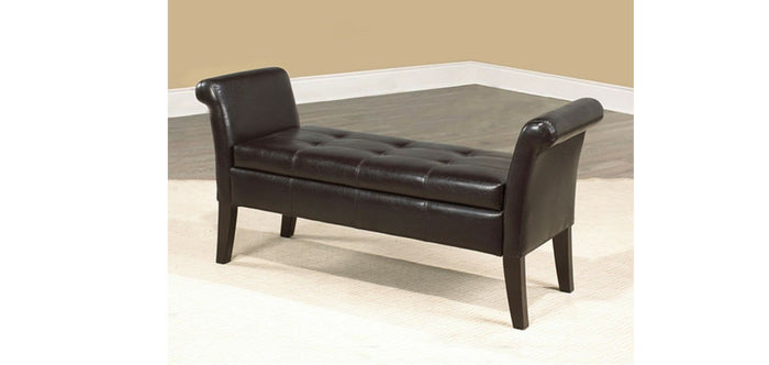 IF 668-E Storage Bench Espresso PU [NEW]