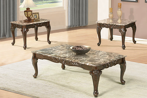 IF 2070 Coffee & End Tables Set [NEW]