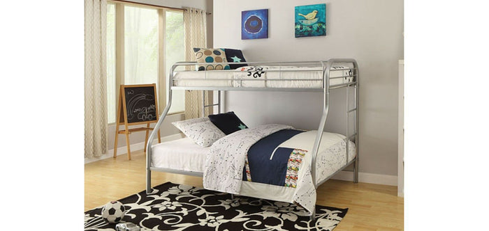 IF 501-G Single/Double Bunk Bed Grey [NEW]