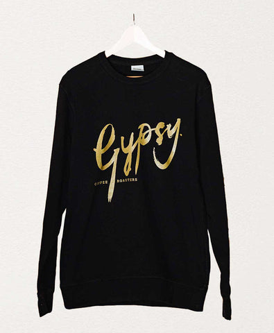 Gypsy Crewneck Sweater - Black