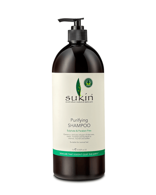 Sukin Pump Purifying Shampoo 1 ltr - Corner Pharmacy