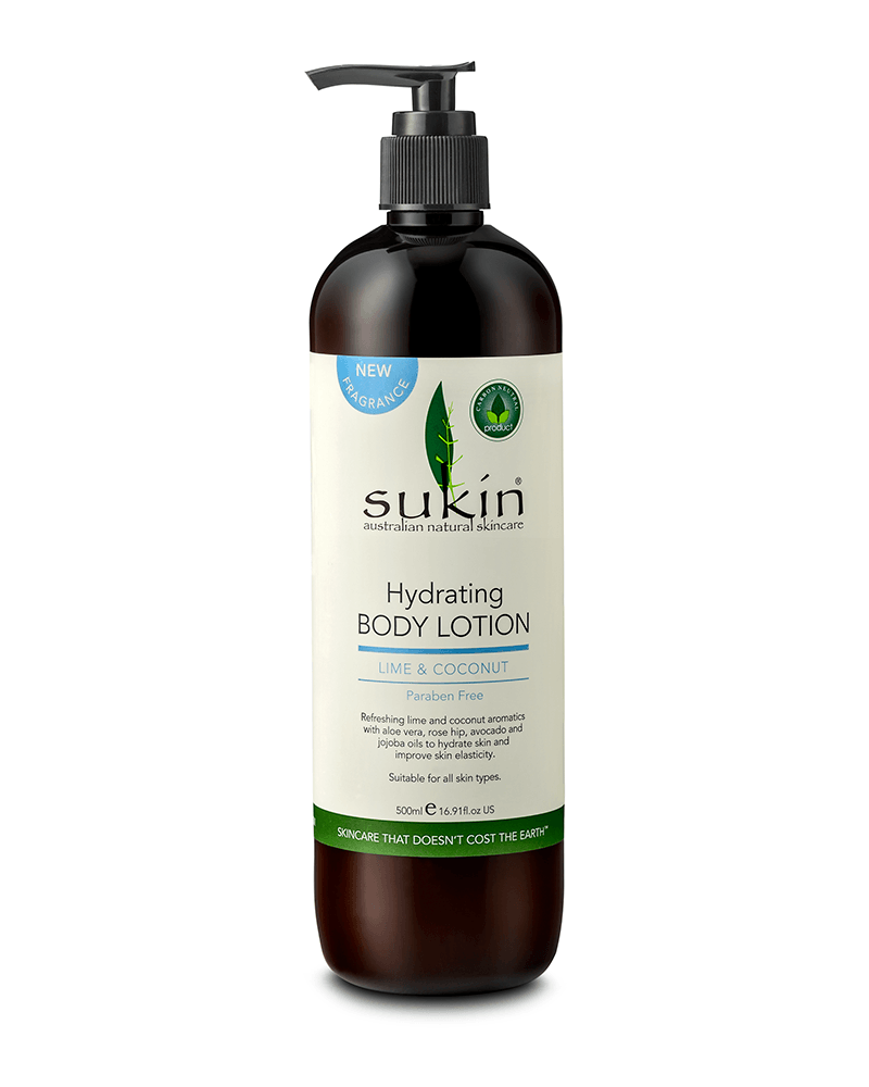 Sukin Hydrating Body Lotion - Coconut & Lime 500 ml - Corner Pharmacy