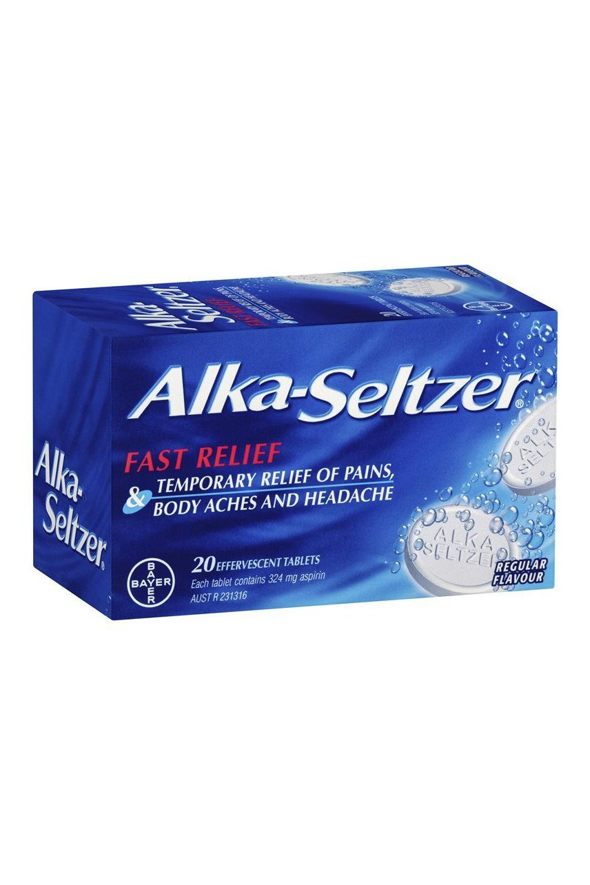 ALKA SELTZER Regular 20 Tabs - Corner Pharmacy