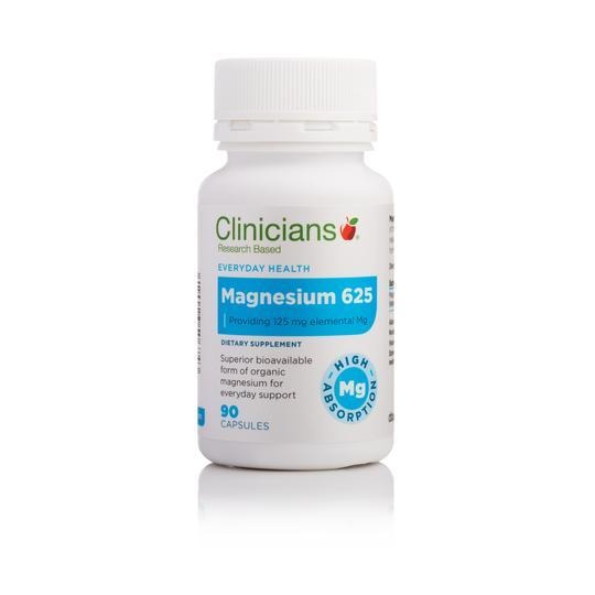 Clinicians Magnesium 625 90 caps - Corner Pharmacy