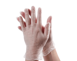 Pack of 100 Disposable Latex Gloves - Large - Corner Pharmacy