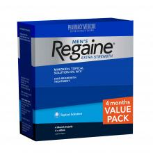REGAINE Extra Strength Topical Solution Value Pack Four Months Supply