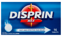 DISPRIN Max 500mg 16s - Corner Pharmacy
