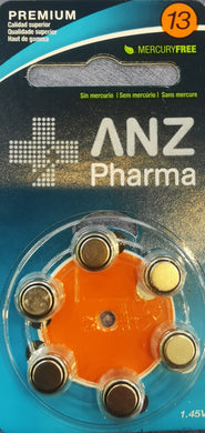 ANZP Hearing Aid Battery Size 13 6 - Corner Pharmacy