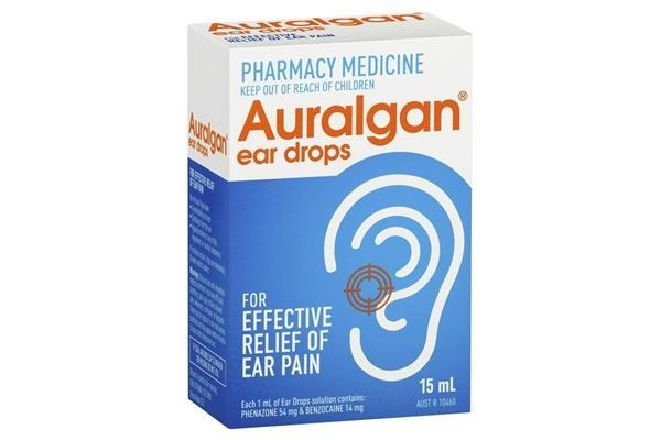 AURALGAN Ear Pain Relief Drops 15ml - Corner Pharmacy