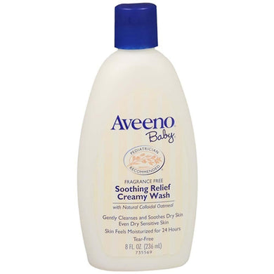 AVEENO Baby Sooth Cream Wash 236ml - Corner Pharmacy
