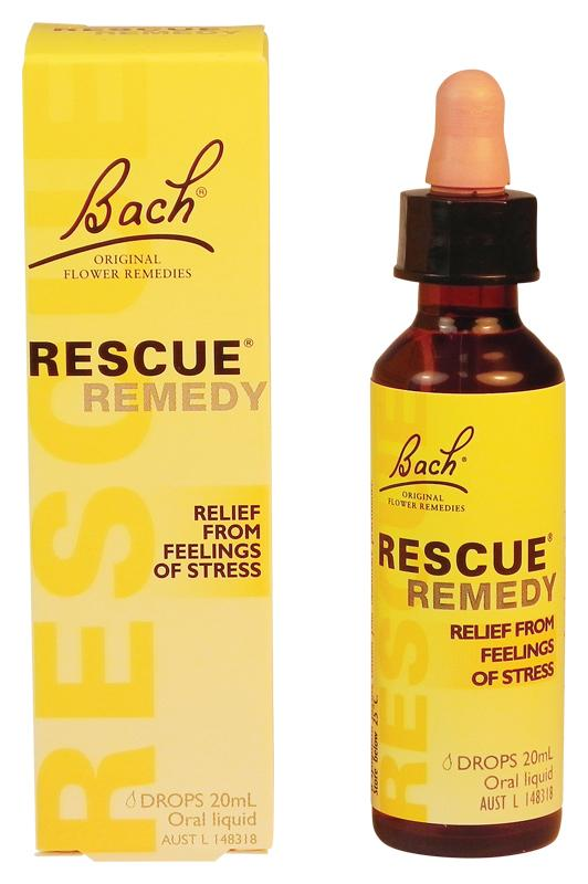 Bach Rescue Remedy Drops Oral Liquid 20ml - Corner Pharmacy